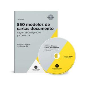tapa del libro Abatti 550 modelos de cartas documento 2019