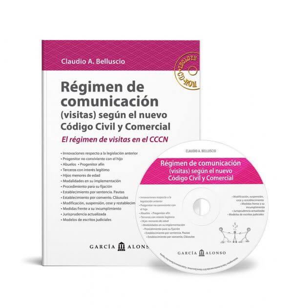 Tapa de libro Belluscio Régimen de comunicación