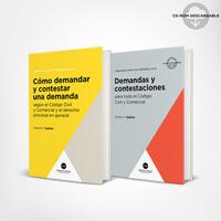 Pack Como demandar y contestar una demanda / 2 libros 1
