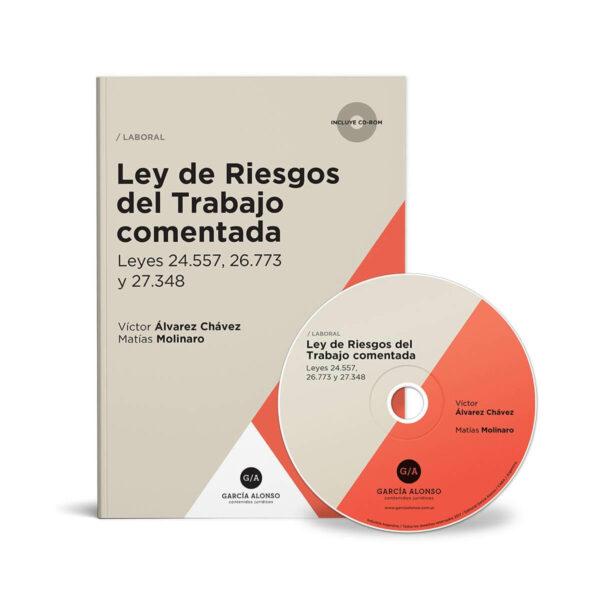 Tapa de libro: Ley de Riesgos del Trabajo 2017 comentada