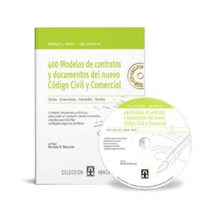 tapa de libro Abatti-Rocca 400 modelos de contratos