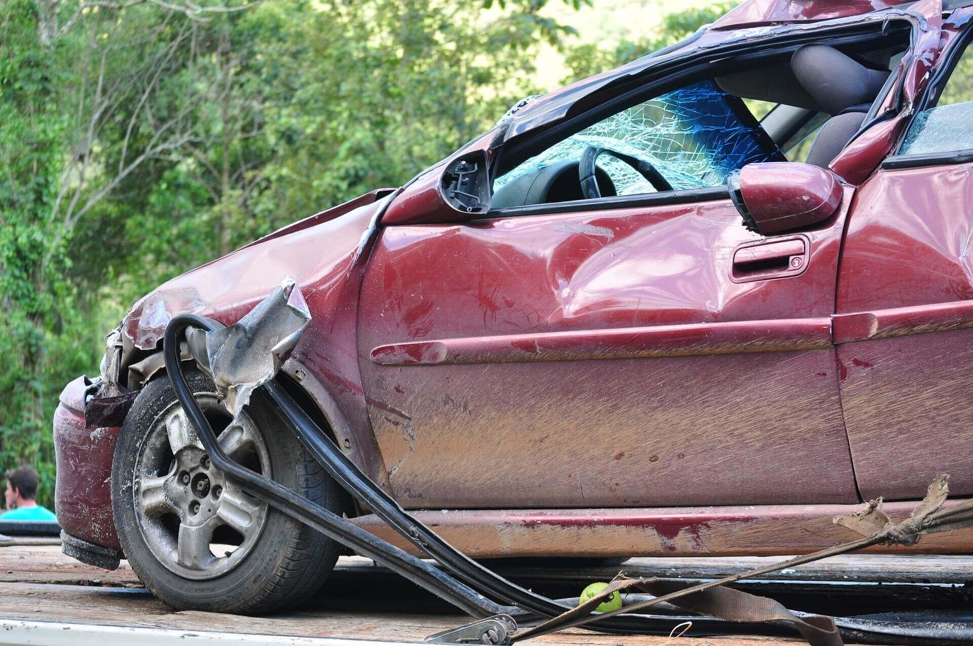 ¿Cuándo se considera destrucción total de un auto?