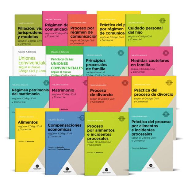 Biblioteca Belluscio de Derecho de Familia / Editorial García Alonso