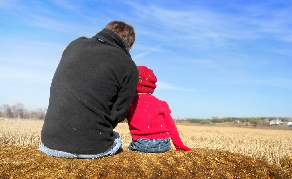cuidado personal del hijo de forma provisional