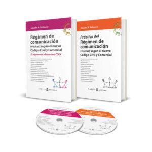 Pack Belluscio Régimen de comunicación (teoría y práctica) / 2 libros + 2 CDROM