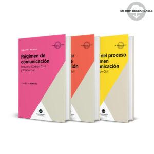 Belluscio Pack Régimen de comunicación - teoría y práctica
