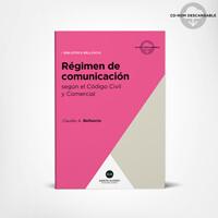 Pack Belluscio Régimen de comunicación 1