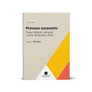 proceso sucesorio - tapa de libro - autor germano - editorial garcia alonso