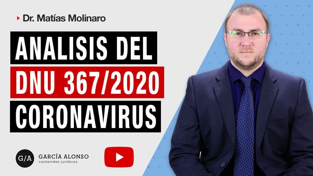 analisis del dnu 367/2020