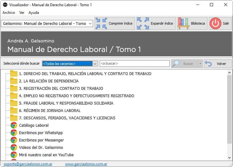 Manual de derecho laboral (teoría y práctica) / 3 tomos 8