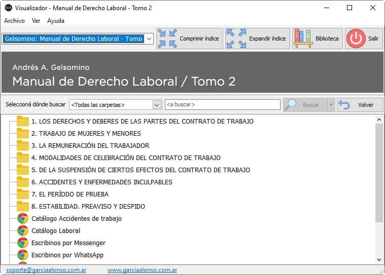 Manual de derecho laboral (teoría y práctica) / 3 tomos 9