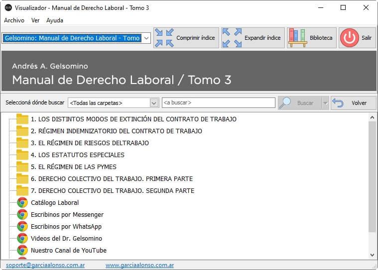 Manual de derecho laboral (teoría y práctica) / 3 tomos 10