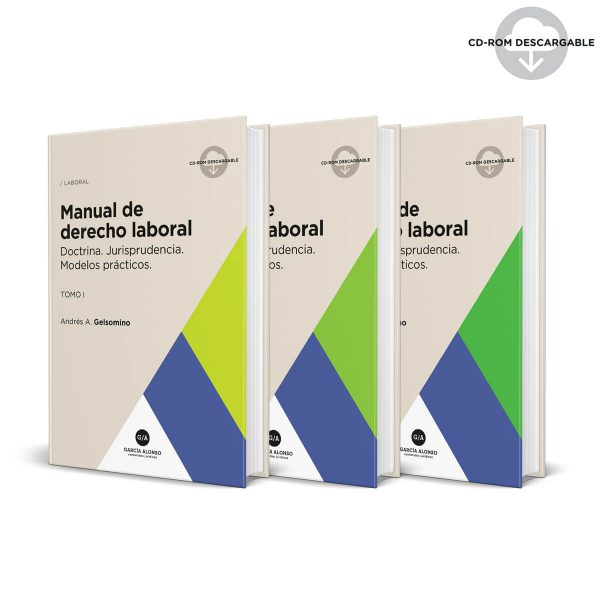 manual de derecho laboral gelsomino editorial garcia alonso