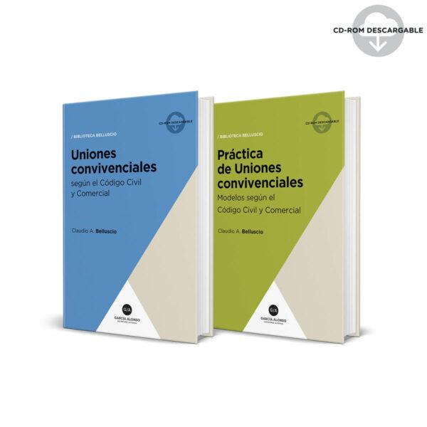Pack Belluscio Uniones convivenciales (teoría y práctica) / 2 libros + 2 CDROM