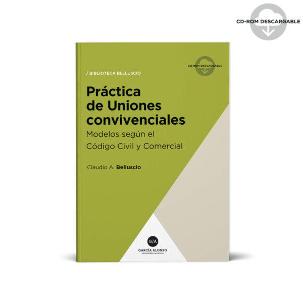 tapa de libro: Belluscio - Práctica Uniones convivenciales