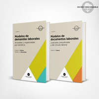 Pack Modelos laborales (2 tomos) 1