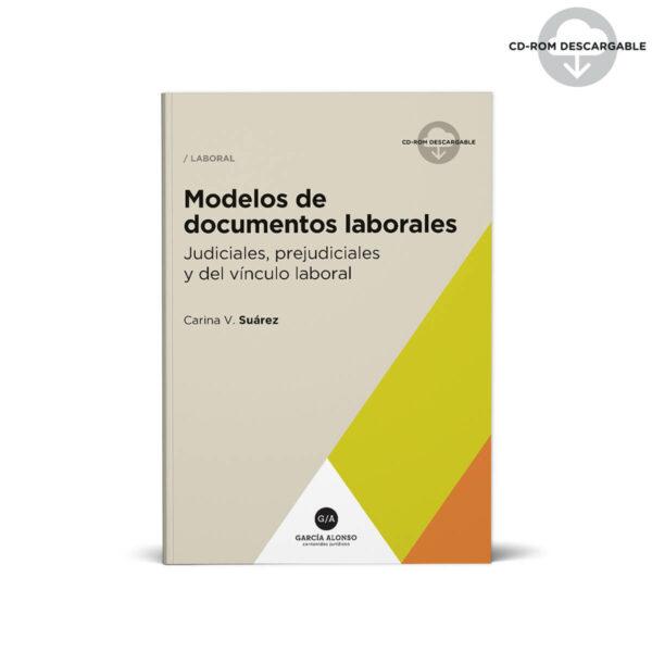 Suarez Modelos de documentos laborales Editorial García Alonso