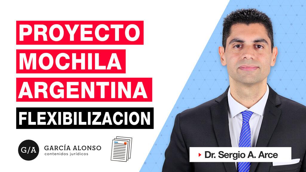 Proyecto Mochila Argentina. Flexibilización laboral. Análisis crítico