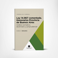 Ley 14967 comentada (Honorarios Provincia de Buenos Aires) 1