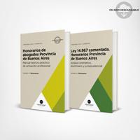 Pack Honorarios de abogados Provincia de Buenos Aires 1
