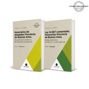 pack Honorarios de Abogados Provincia de Buenos Aires